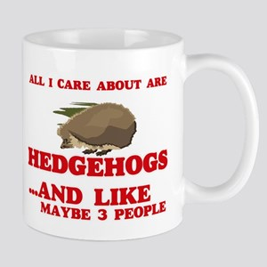 All I care about are Hedgehogs Mugs