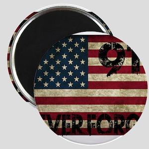 911 Grunge Flag Magnets