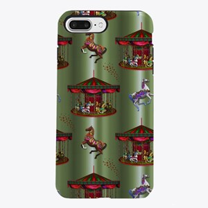 Christmas Carousel iPhone 7 Plus Tough Case