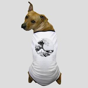 The Great Wave off Kanagawa (18) Dog T-Shirt