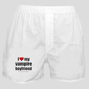 """Love My Vampire Boyfriend"" Boxer Shorts"