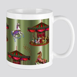 Christmas Carousel Mugs