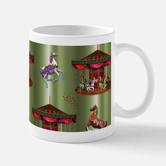 Christmas Carousel Mugs
