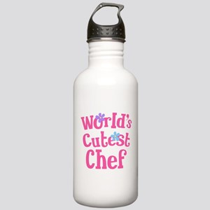 Worlds Cutest Chef Stainless Water Bottle 1.0L