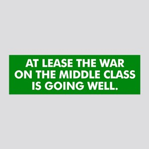 Middle Class Warfare Wall Decal