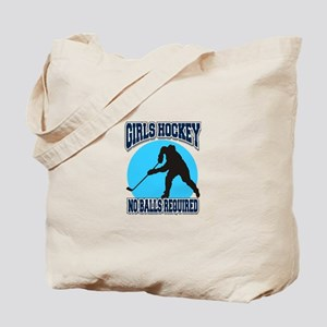 Girl's Hockey Tote Bag