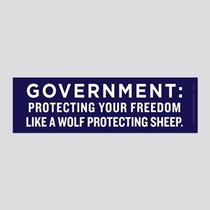 Government Protection Wall Decal