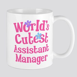 Worlds Cutest Assistant Manager Mug