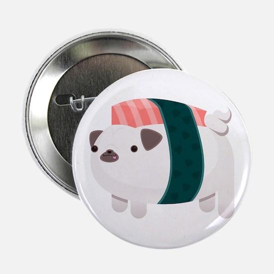 """Nigiri-Pug 2.25"""" Button"""