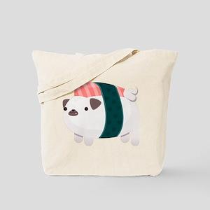 Nigiri-Pug Tote Bag