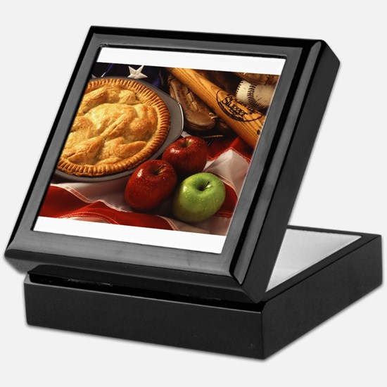 Apple Pie Keepsake Box