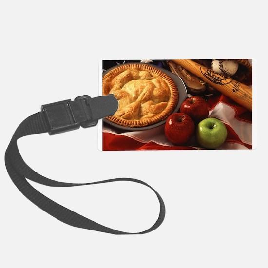 Apple Pie Luggage Tag