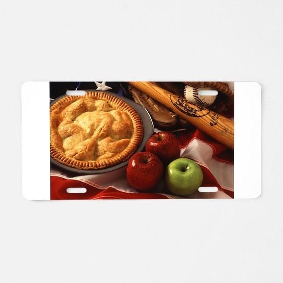 Apple Pie Aluminum License Plate