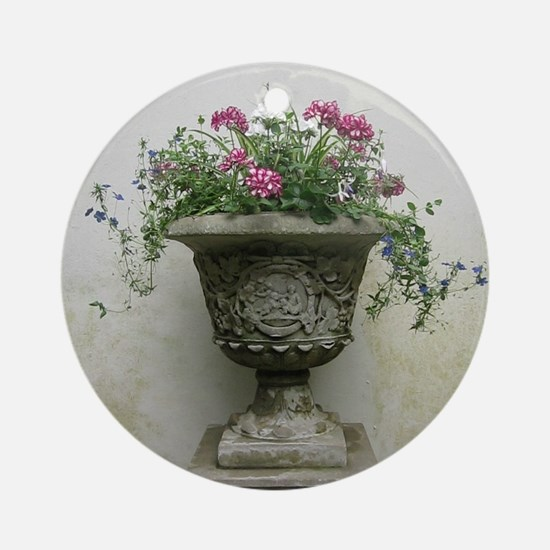 The Plant at Lyme Park Round Ornament
