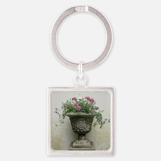 The Plant at Lyme Park Square Keychain