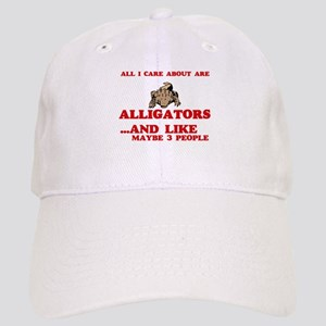 All I care about are Alligators Cap