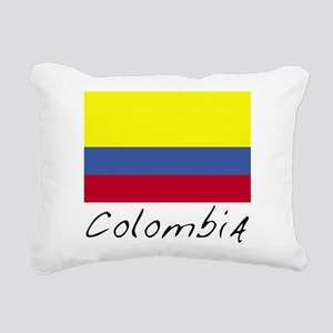 Colombia (Flag, World) Rectangular Canvas Pillow