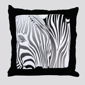 Fantasy Zebra Art Throw Pillow