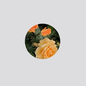 Orange Roses Mini Button