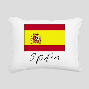 Spain (Flag, International) Rectangular Canvas Pil