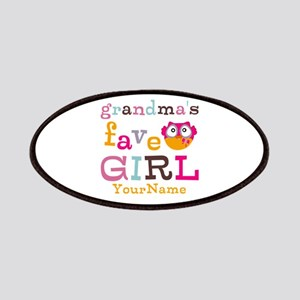 Grandmas Favorite Girl Personalized Patches