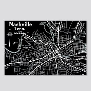 Vintage Nashville Black Postcards (Package of 8)