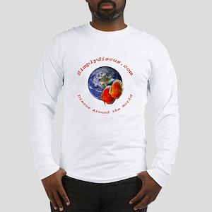 wild discus pr front Long Sleeve T-Shirt