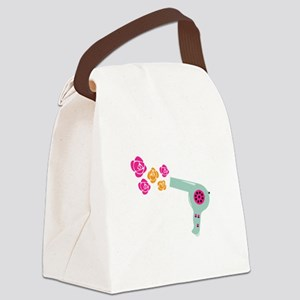 Hairdryer Canvas Lunch Bag