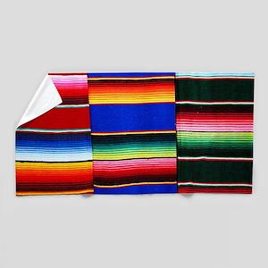 Serape Stripes Beach Towel