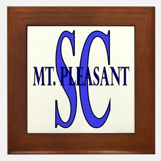 Mount Pleasant Framed Tile