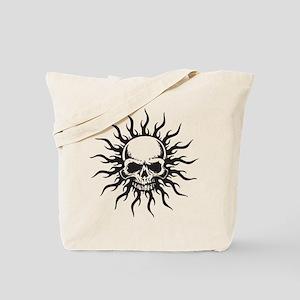 Tribal Skull Tote Bag