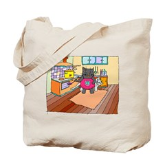 Cat Chef Tote Bag