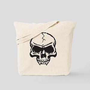 Vampire Skull Tote Bag