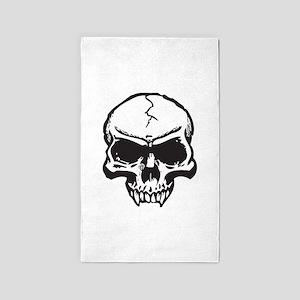Vampire Skull 3'x5' Area Rug