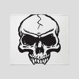 Vampire Skull Throw Blanket