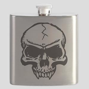 Vampire Skull Flask
