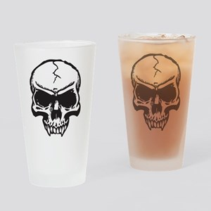 Vampire Skull Drinking Glass