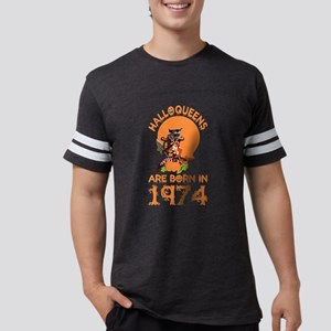 Halloqueens Are Born In 1974 Halloween T-Shirt