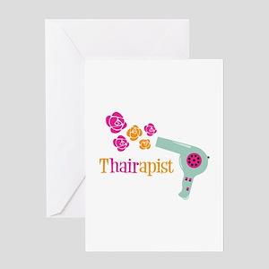 tHAIRapist Greeting Cards