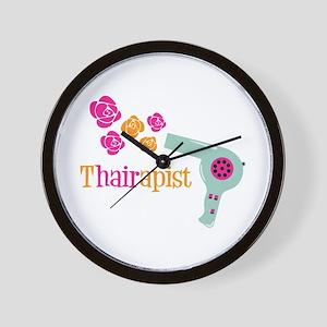 tHAIRapist Wall Clock