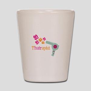tHAIRapist Shot Glass