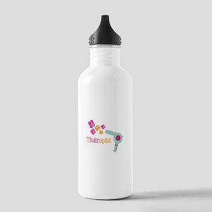 tHAIRapist Water Bottle