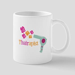tHAIRapist Mugs