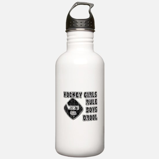Hockey Girl Water Bottle