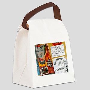 Tippy Bulletin Board Canvas Lunch Bag