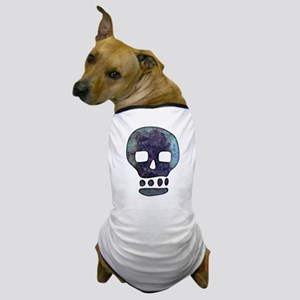 Textured Skull Dog T-Shirt