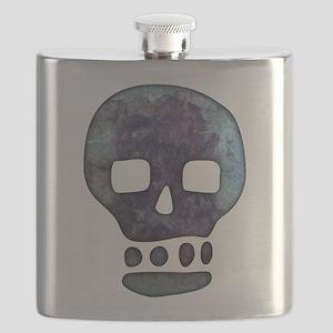 Textured Skull Flask