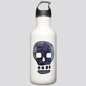 Textured Skull Water Bottle