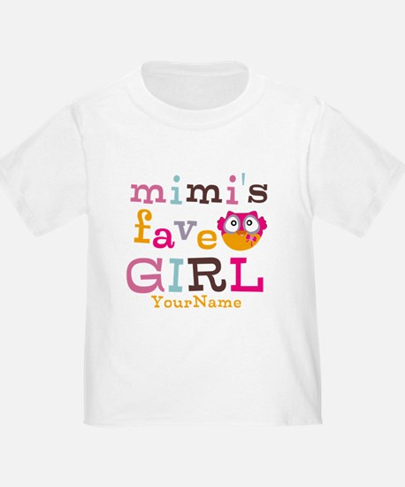 Mimis Favorite Girl - Personalized T