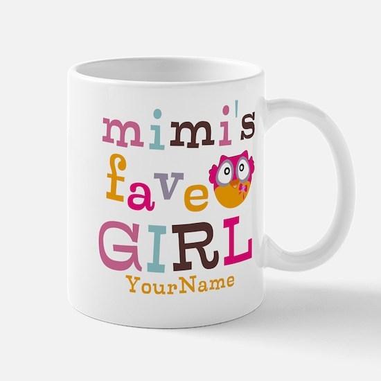 Mimis Favorite Girl - Personalized Mug